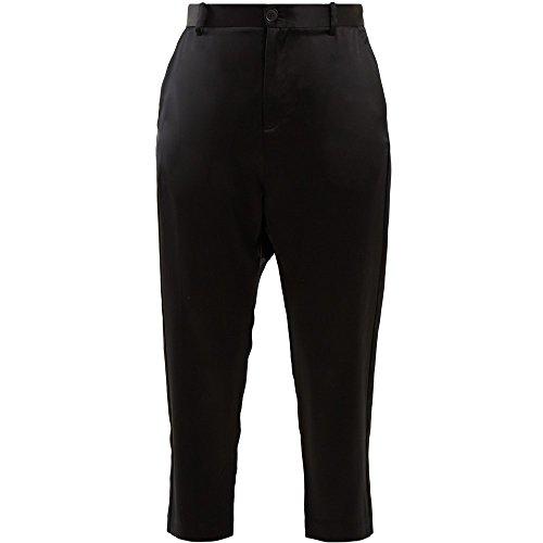 デモンストレーション故意のカタログ(ニリ ロータン) Nili Lotan レディース ボトムス?パンツ クロップド Paris high-rise silk cropped trousers [並行輸入品]