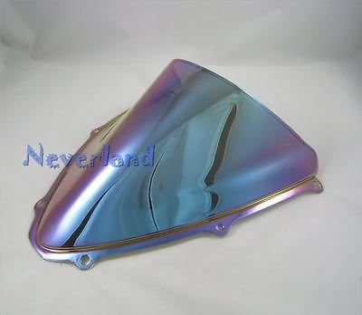 UltaBuild(TM)New Motorcycle Double Bubble Windscreen Wind...