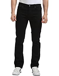 Men's Regular Slim Fit Straight Leg Jeans