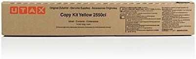 Original Utax 662510016 Toner Yellow Für Triumph Adler 2550 Ci Bürobedarf Schreibwaren