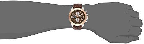 Tommy Bahama  Men's 10018306 Kona Grand Prix Chronograph Analog Display Japanese Quartz Brown Watch