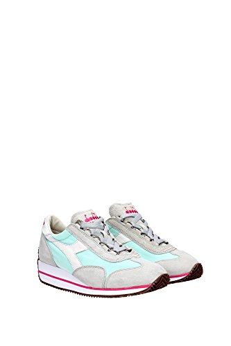 Donna Grigio W Diadora Sw Equipe Bianco Canvas Sneakers Suede Heritage HH vqRw1