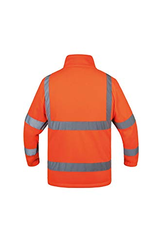 Korntex KXFJOM Color Naranja Talla M Chaqueta de Forro Polar