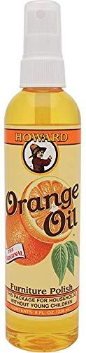 Howard OR0008 Orange Oil Wood Polish, ()