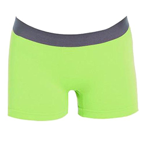 Green Shorts Breathable Seamless LITTHING Women's Bacterial Anti Boxer 61CpRq