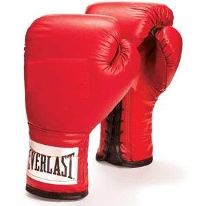 (Everlast Leather Boxing Gloves - 1 Pair)