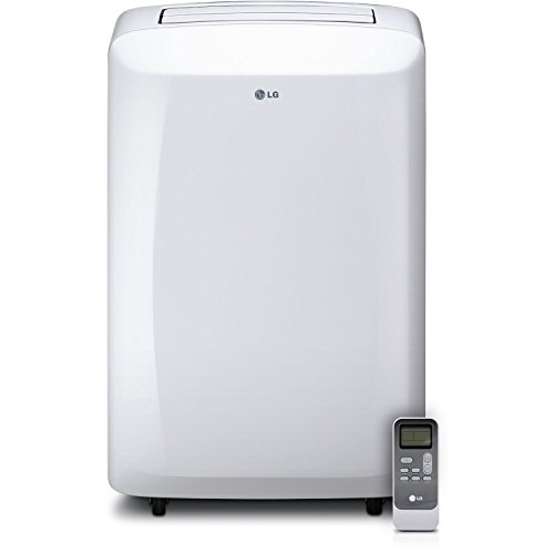 LG 10,000 BTU 115V Portable Air Conditioner with Remote Control, White (Certified - Panel Refurbished