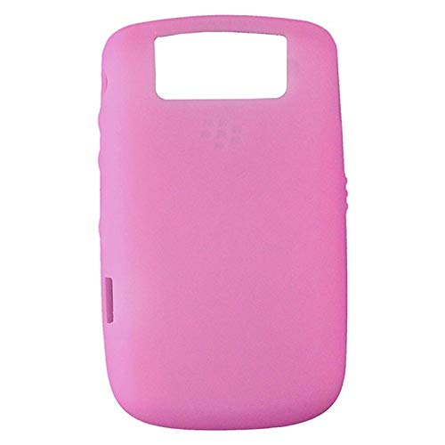 (OEM PINK Blackberry Silicone Rubber Gel Skin Case Cover for Tour 9630 and Bold 9650)
