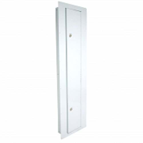 Homak Between the Studs High Security Steel Tall Wall Safe, White, WS00018002 (Hidden Wall Mirror Safe)