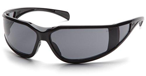 Pyramex Exeter Safety Eyewear, Gray Anti-Fog Lens With Black Frame