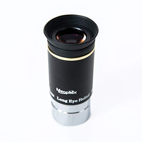 "MEOPTEX 1.25"" 6mm 9mm 15mm 20mm 66-Degree Ultra Wide Angle Eyepiece for Telescope (6mm)"