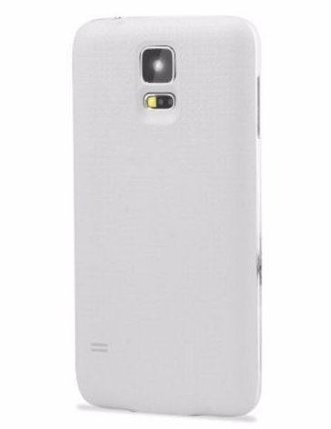 promo code b777c 1ff59 Wireless Charging Battery Cover for Samsung Galaxy S5 with Wireless  Charging Pad (White)