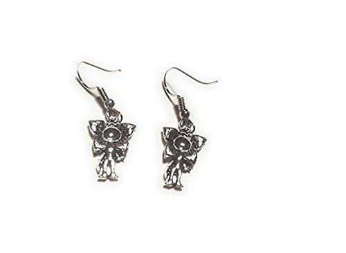 Premium Quality # Stranger Things Upside down Demogorgon Earrings Monster Drop Earrings for Women TV Show Jewellery# FREE GIFT Bags with all Orders