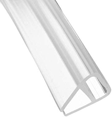 Tira de sellado para puerta de baño de 8 mm para sellado de cristal de grosor de separación de 6,5 pies: Amazon.es: Bricolaje y herramientas