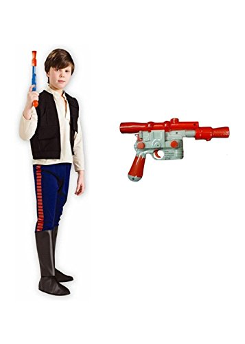 Han Solo Costumes For Kids - Little Boys' Star Wars Movie Han Solo Costume Kit