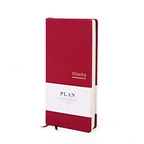 Life Planner Weekly & Monthly Planner to Increase Productivity & Happiness - Weekly Planner, Organizer & Gratitude Journal -Undated