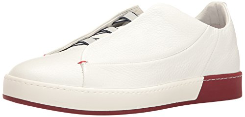 Bacco Bucci Mens Pinto Fashion Sneaker White