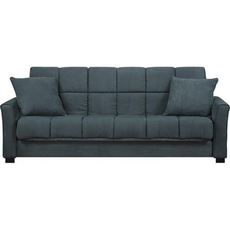 Baja convert a couch and sofa bed medium blue best for Baja convert a couch and sofa bed reviews