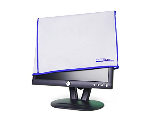 Computer monitor dust cover for flat panel LCD (21W x14H x3D)