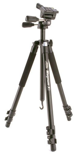 Davis & Sanford MAGNUMXG Magnum Grounder Tripod with 3-Way Fluid Pan Head (Black)