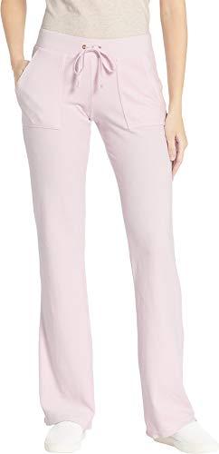 Juicy Couture Women's Del Rey Velour Pants Peekaboo Large 30 ()
