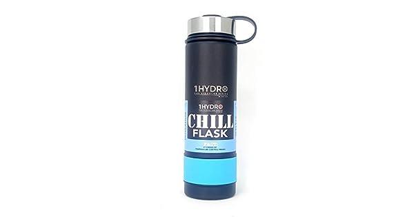 Amazon.com: 1HYDRO 1TAC - Botella de agua aislada con boca ...