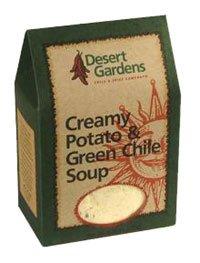 (Desert Gardens Creamy Potato & Green Chile Soup)