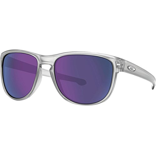 Oakley Men's Sliver R Non-Polarized Iridium Rectangular Sunglasses, Matte Clear, 57 - Customize Oakley