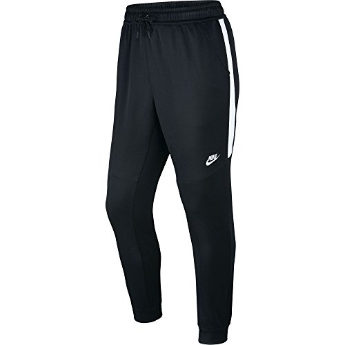Men's Nike Sportswear Joggers Black/White/White Small