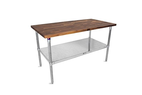 Wood Top Work Table - John Boos JNS Series 1-1/2