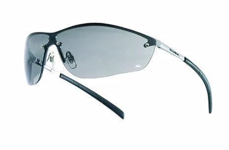 Bolle Bolle - Gafas de sol de seguridad, marco de metal, color gris