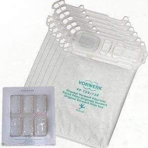 Folletto vk 135 136 kit 6 sacchetti 12 profumi 4 filtri MIGLIORI leggi perchè