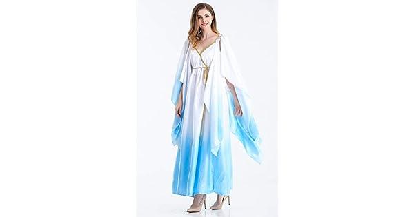 Amazon.com: Disfraz de diosa griega de Athena para adultos ...