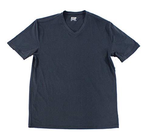 32 DEGREES Cool Mens Medium V Neck Casual Performance T-Shirt Blue M