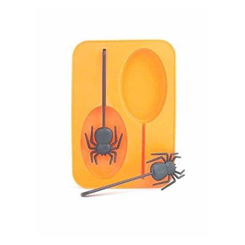 (Kikkerland Spider Ice Mold (Set of 2) Orange)