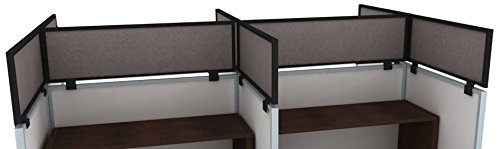 "18"" Acoustical Cubicle Mounted Privacy Panel with Large B..."