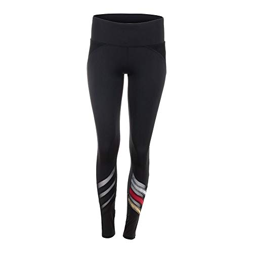 Lucky In Love Women`s Olympian Tennis Legging Black (Small Black)