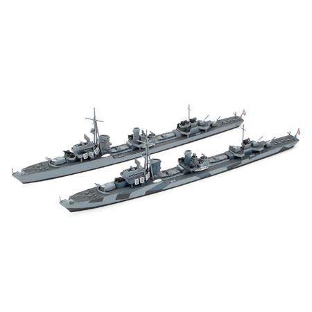Tamiya America, Inc 1/700 German Destroyer Z37-39, TAM31908 ()