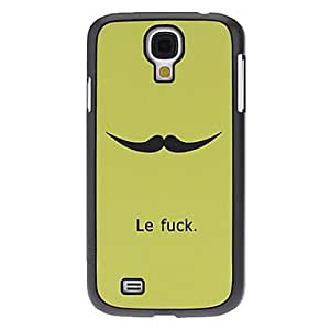 Little Mustache Pattern Hard Case for Samsung Galaxy S4 I9500