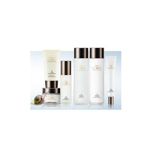 KOREAN COSMETICS, SCINIC _ Snails Matrix 6-piece set _ (Skin + Emulsion + Essence + Eye Cream + Cream + BB Cream) (elastic, moisturizing, nutrition, skin texture, radiance skin)[001KR] (Emulsion Radiance)