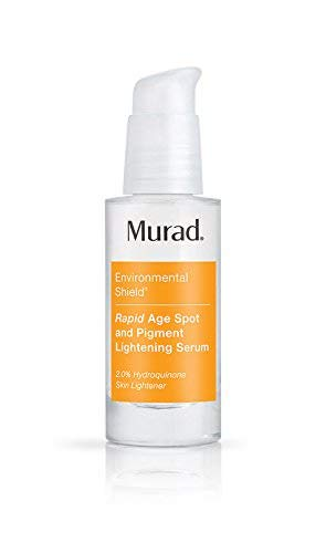 - Murad Rapid Age Spot and Pigment Lightening Serum - (1.0 fl oz), Dark Spot Corrector with Hydroquinone for a Clearer Brighter Complexion that Inhibits Future Pigment Formation