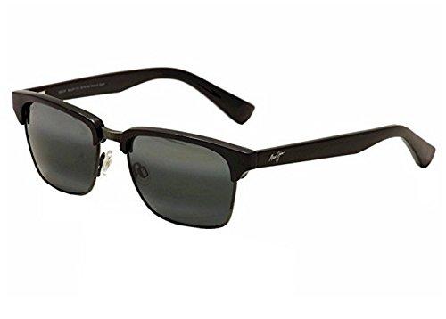 Maui Jim - Kawika - Gloss Black W/ Pewter Frame-Polarized Neutral Grey Lenses by Maui Jim (Image #1)