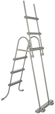 Bestway 58330 - Escalera para Piscina Desmontable 107 cm: Amazon ...