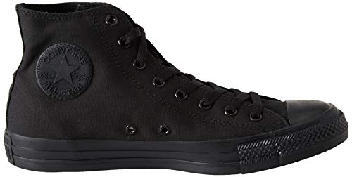Monochrome Chuck Converse Taylor High All Star Black Top q6Pw4YPxd