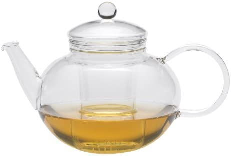 Leaf Miko Glass Teapot