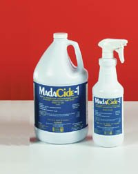 Madacide 1 Cleaner Disinfectant - PT# 7008 PT# # 7008- Disinfectant Spray Madacide 1 32oz Ea by, Mada Medical Products Inc