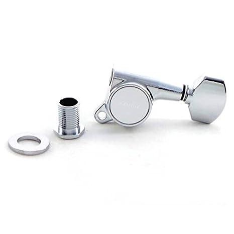 Gotoh Locking Schaller-Type Knob Chrome Tuners (6-in-a-line)