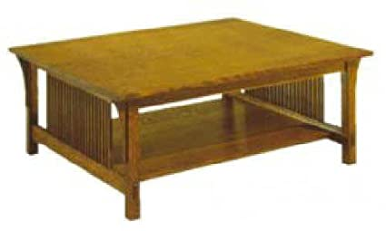 Build Your Own Mission Coffee Table Plan American Furniture Design