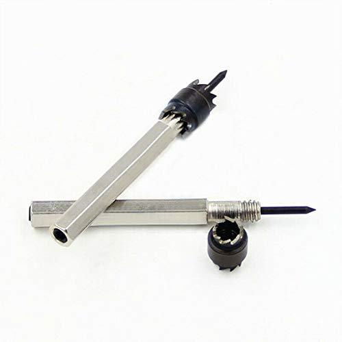 ☀ Dergo ☀High-speed Steel Welding Point Drill 5/16 (8mm) ,3/8 (9.5mm) Hex Shank