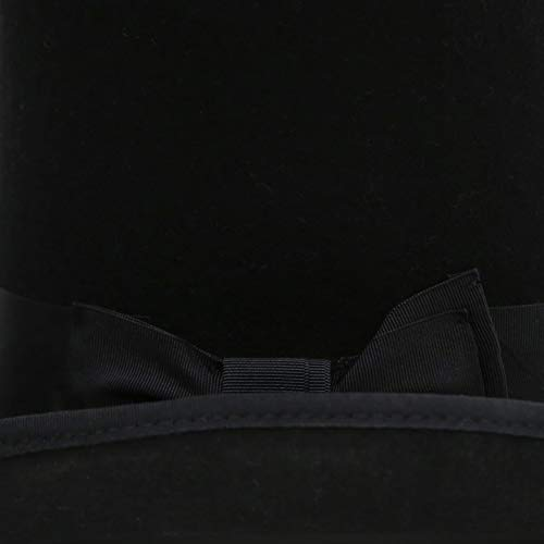 Ferrecci Classic Wool Elegant English Mad Hatter Lined Top Hat - Many Colors 75a9de3870f2